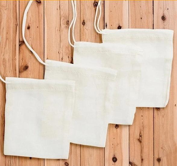 Reusable Cotton Tea Bags by Soul Eco