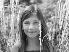 Portrait d'enfant en lumière naturelle