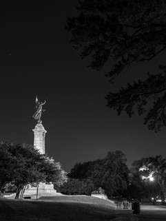 Mont-Royal la nuit