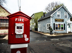 Red Alarm Box Fire - Salem, Mass.