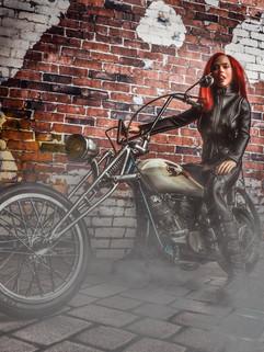 Biker Doll
