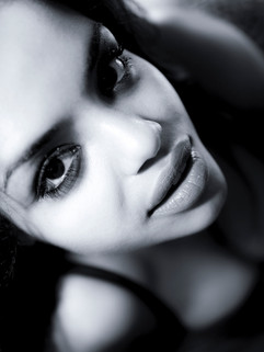 Portrait noir et blanc