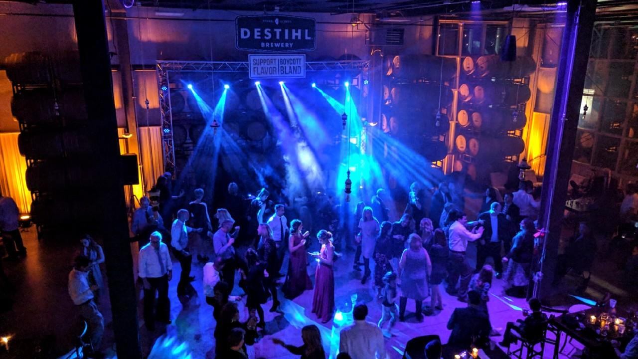 2.17.18 Wedding Reception at DESTIHL Brewery