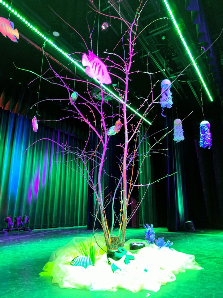 Coral Reef Tree decor