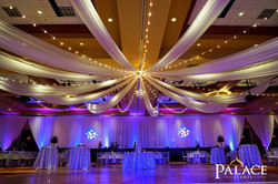 Centered Ceiling Draping
