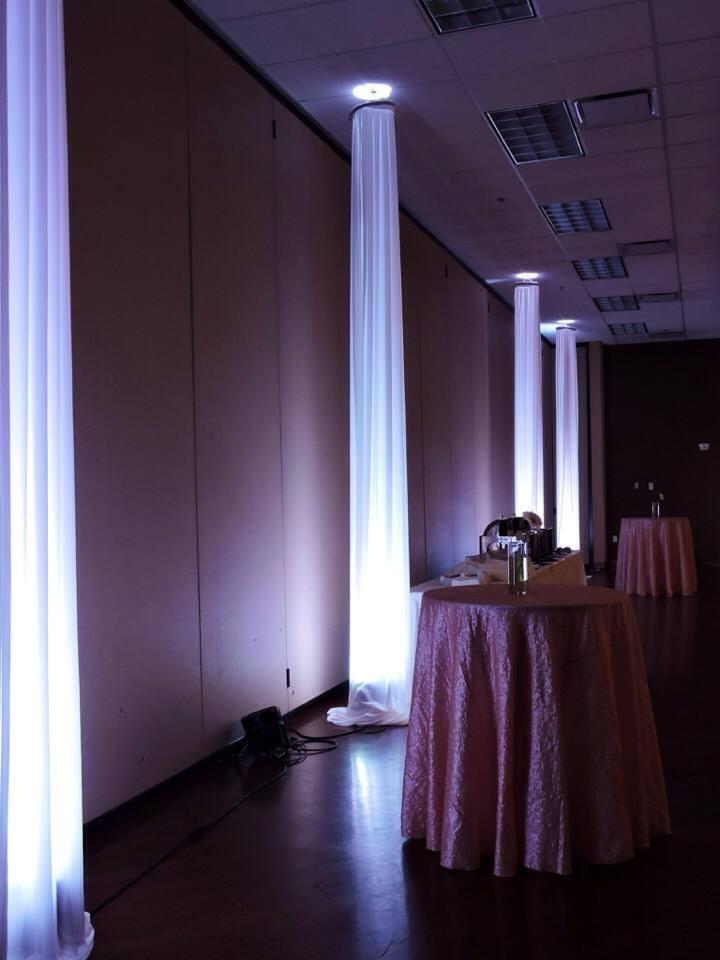 Fabric Columns