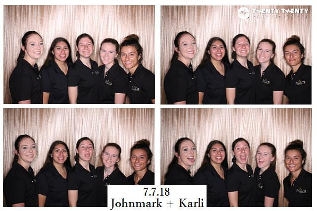 7.7.18 Photo Booth for Wedding Reception