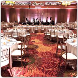 Wedding Reception at Marriot