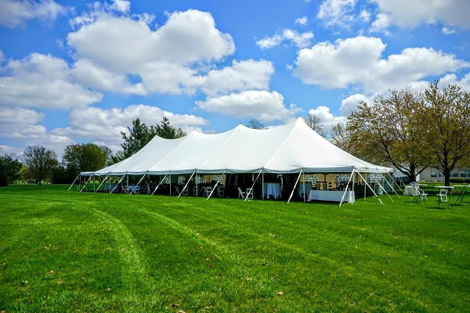 40x100 Pole Tent