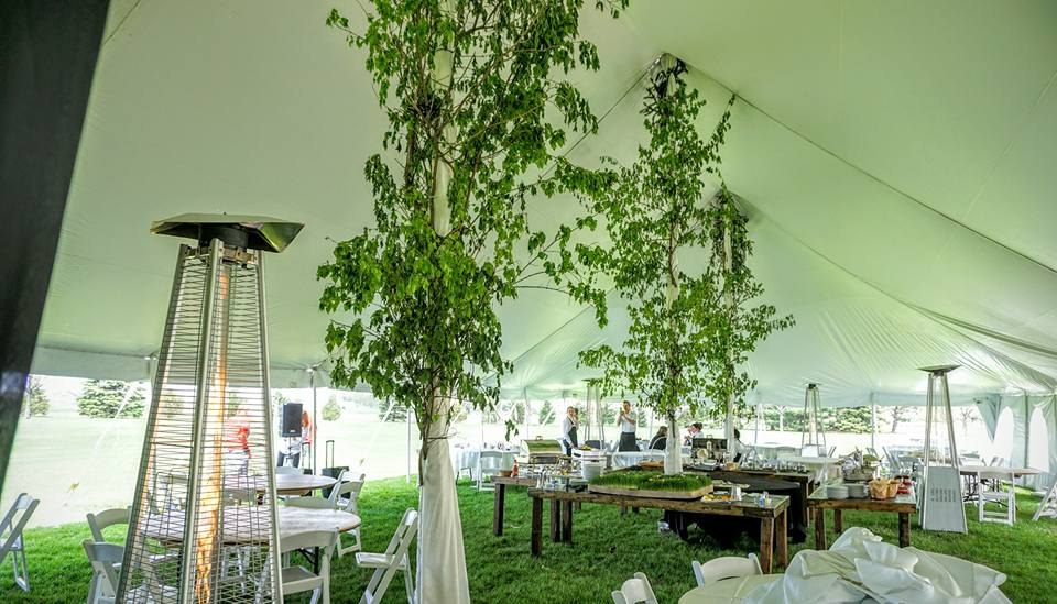Tent Tree Decor