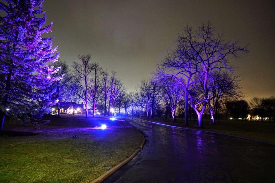 LED Outdoor Uplighting