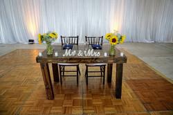 4' Dark Roast Harvest Table