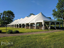 40x120 Pole Tent with Sidepole Skirt