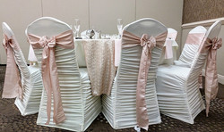 Ivory Rouge Chair Cover