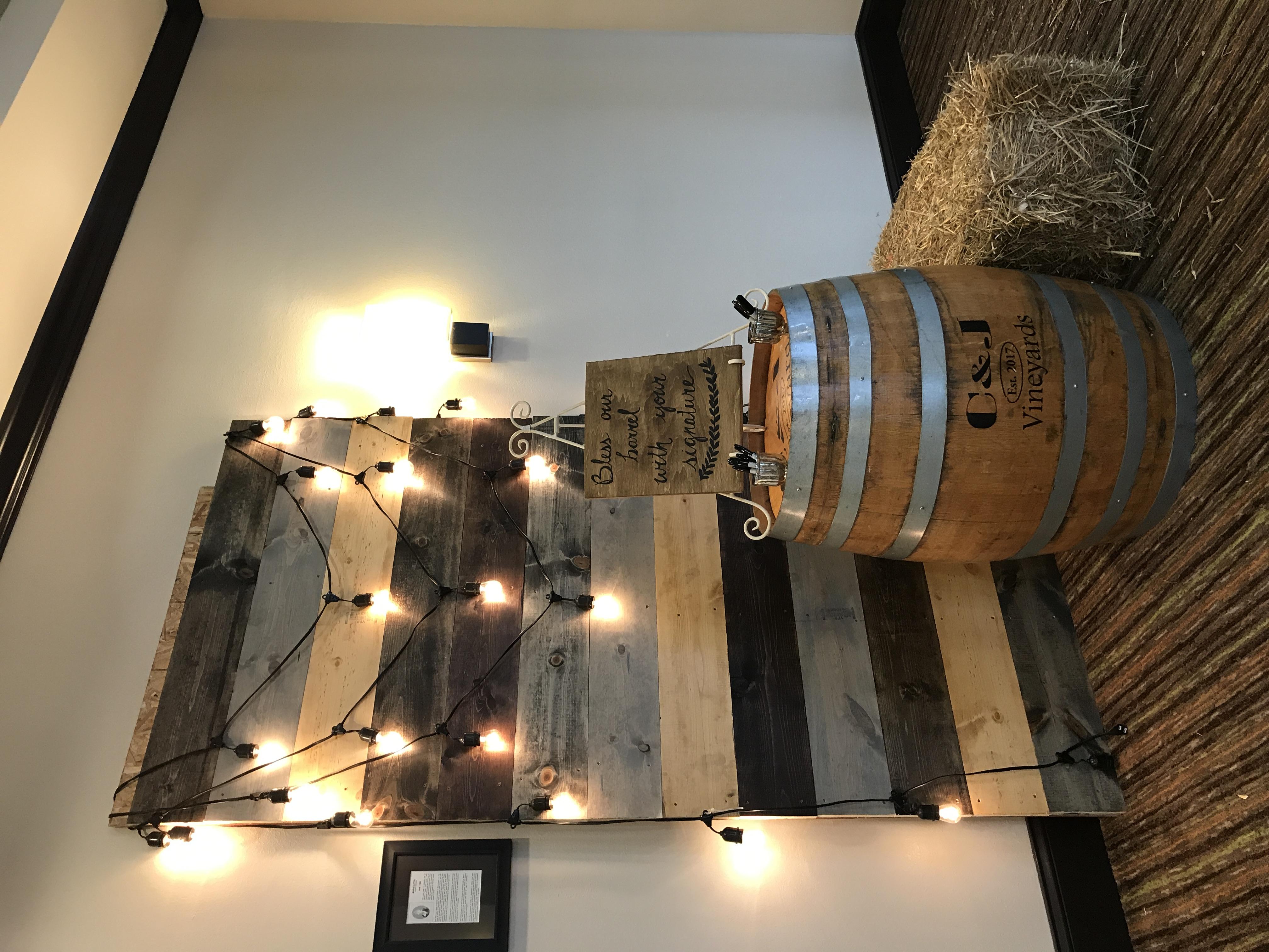 Wood Panel Backdrop