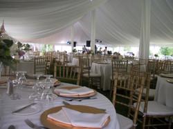 Gold Chiavari Chairs-Tent Liner-Center Pole Drapes.JPG