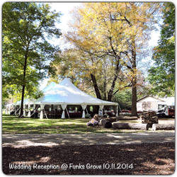 Wedding Reception at Funks Grove