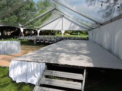 Stage with Stage Skirting