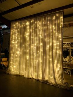 Lit Curtain Draping