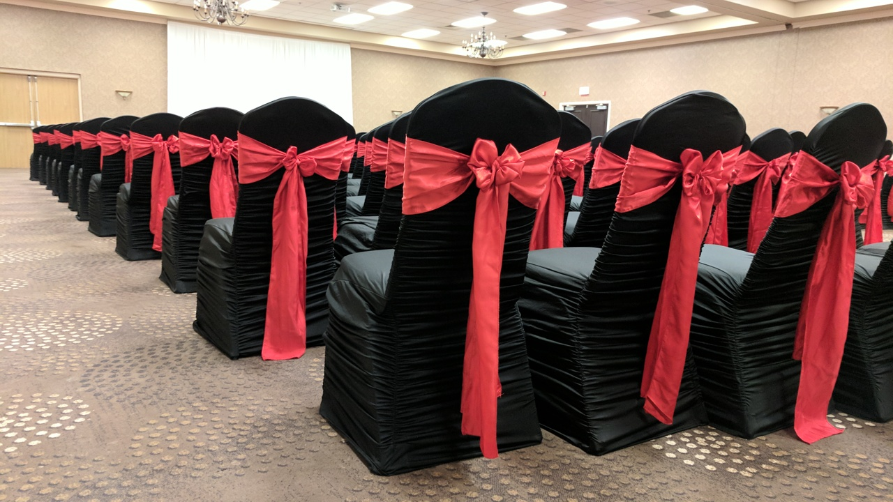 Black Rouge Chair Cover