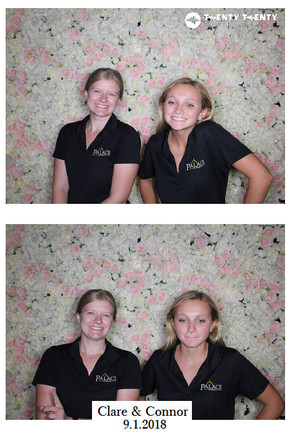 Photo Booth for Wedding Reception 9.1.18 at Castle Theatre