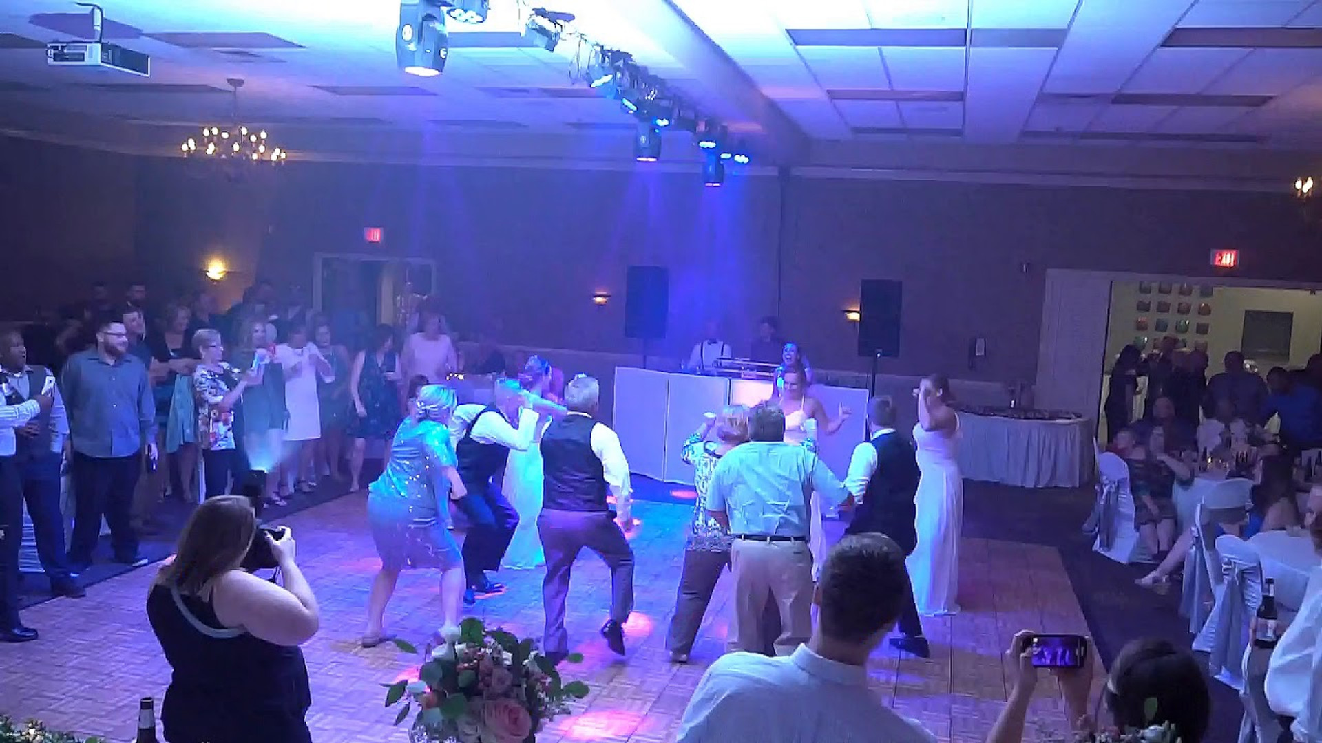 EPIC Surprise Dance at Wedding Reception 9.15.18 at Double Tree Hotel