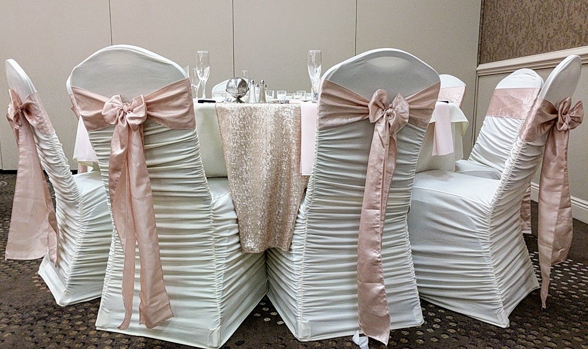 Blush Sequin Runner & Blush Sash