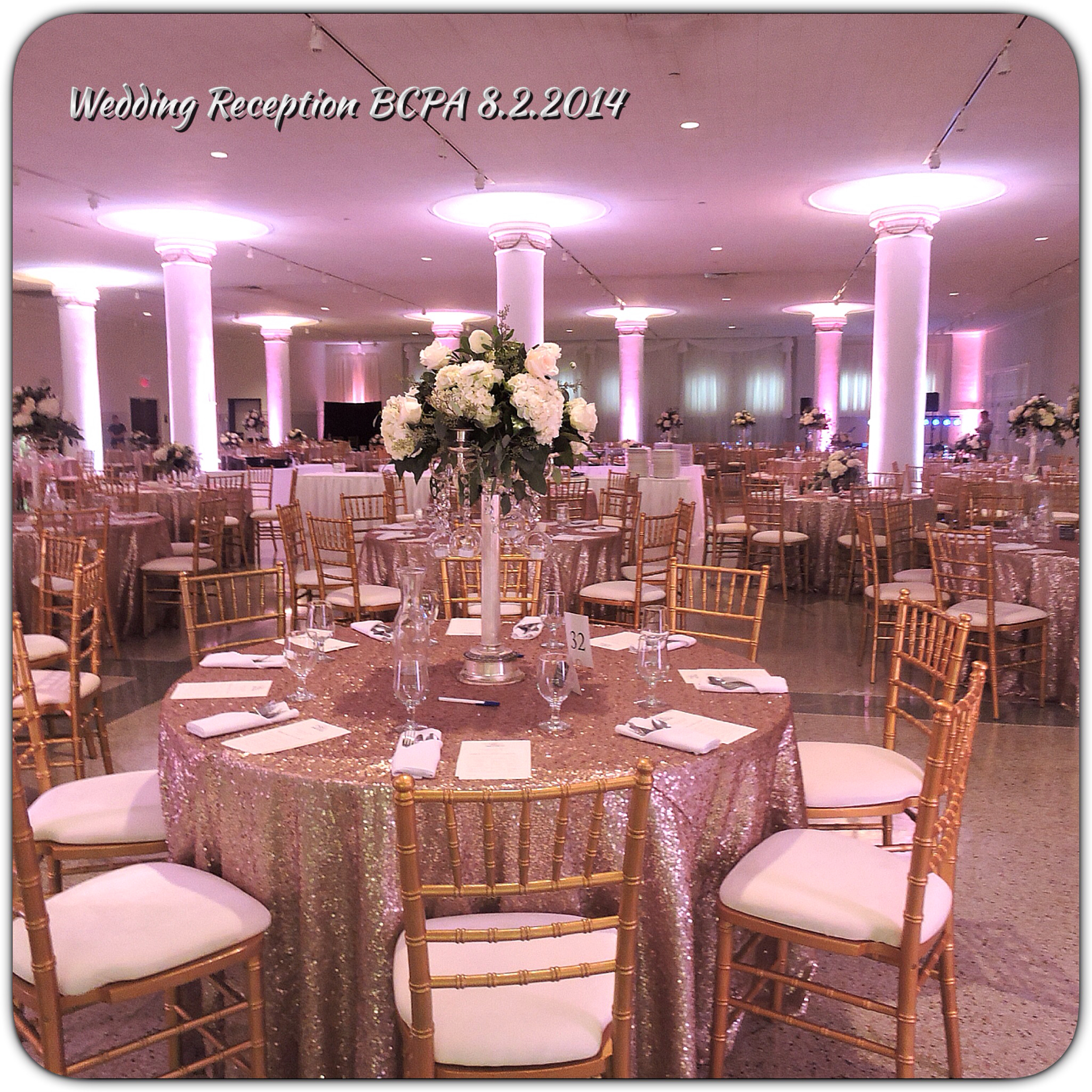 Wedding Reception at BCPA