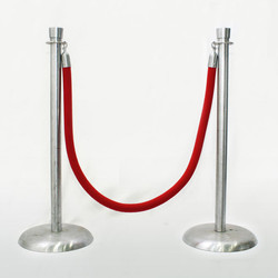 Red Ropes & Stanchions
