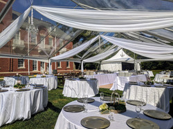 Straight Swag Tent Ceiling Draping