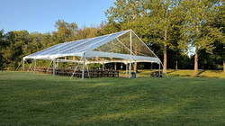 40x60 Clearspan Clear Top Tent