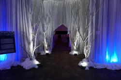 White Tree Decor