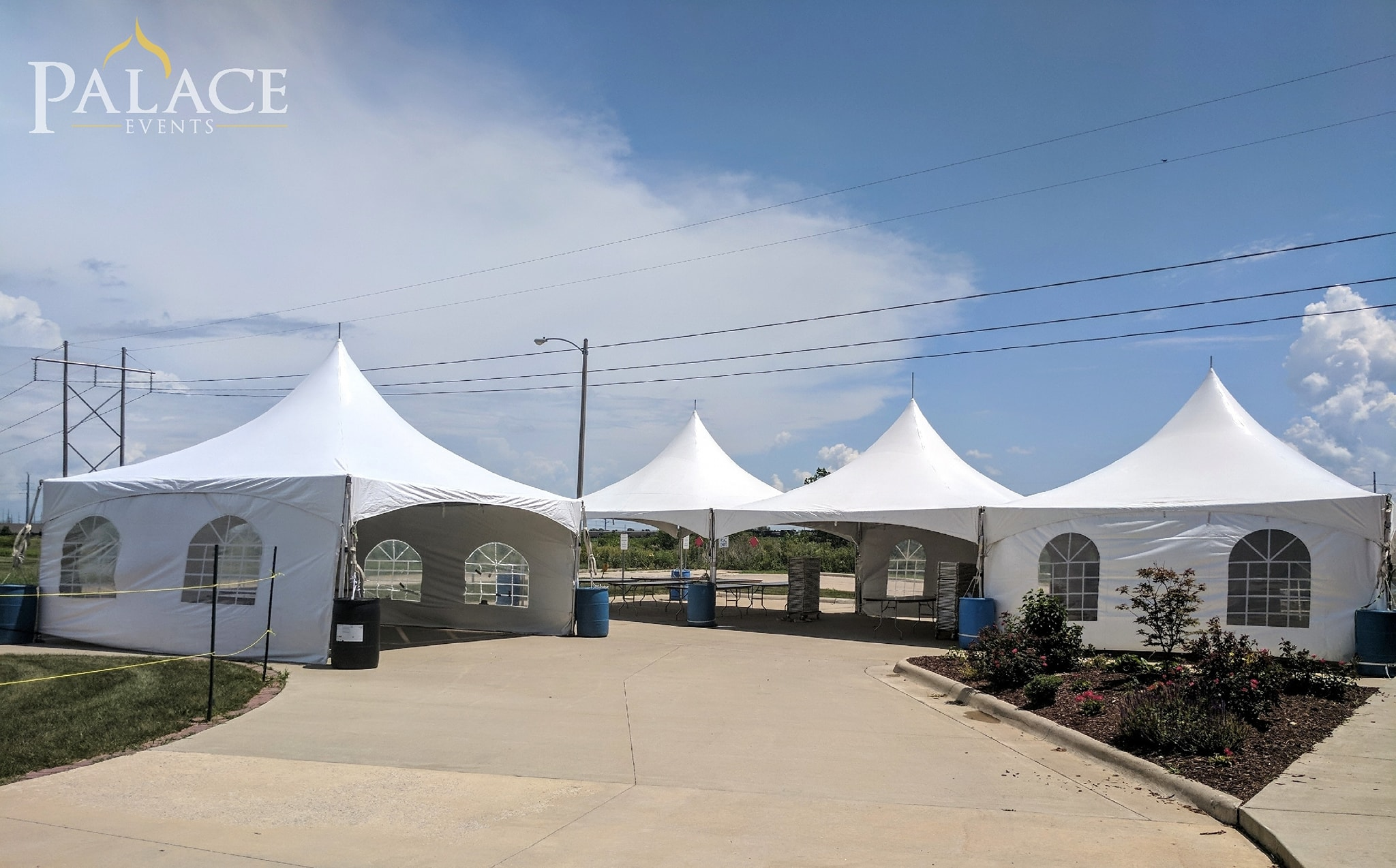20x60 Frame tent & 20x20 Tent