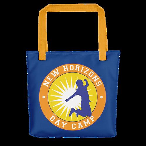 Blue New Horizons Tote Bag