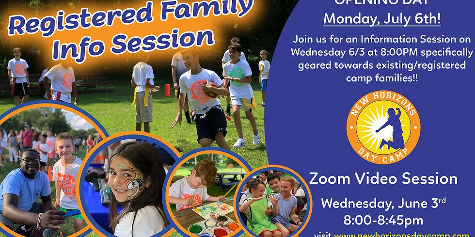 Registered Family Info Session