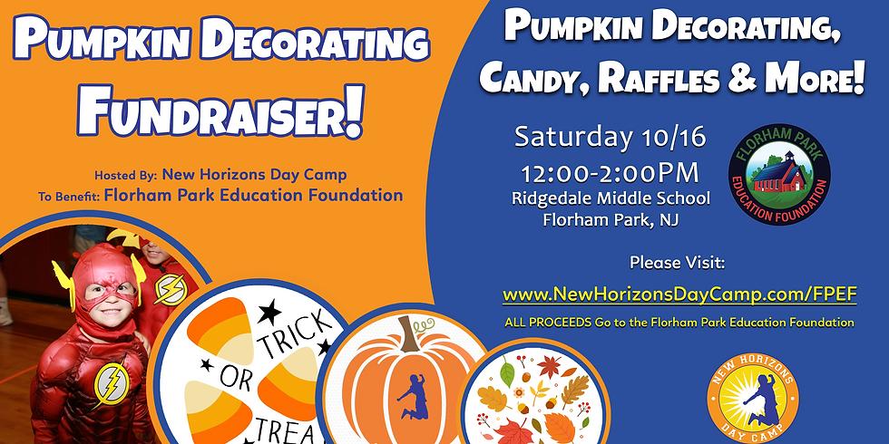 Pumpkin Decorating Fundraiser - FPEF