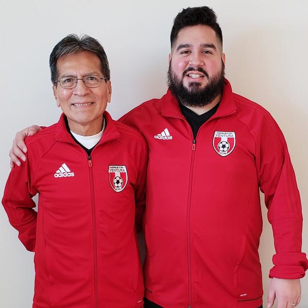 Coach Gus and Coach Tony