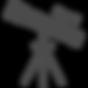 望遠鏡のフリーイラスト3.png