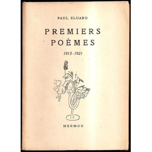 Eluard-Paul-Premiers-Poemes-1913-1921-Livre-ancien-865131236_L