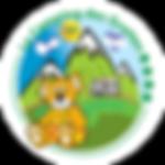 logo-camping-ariege-des-grottes-mascotte