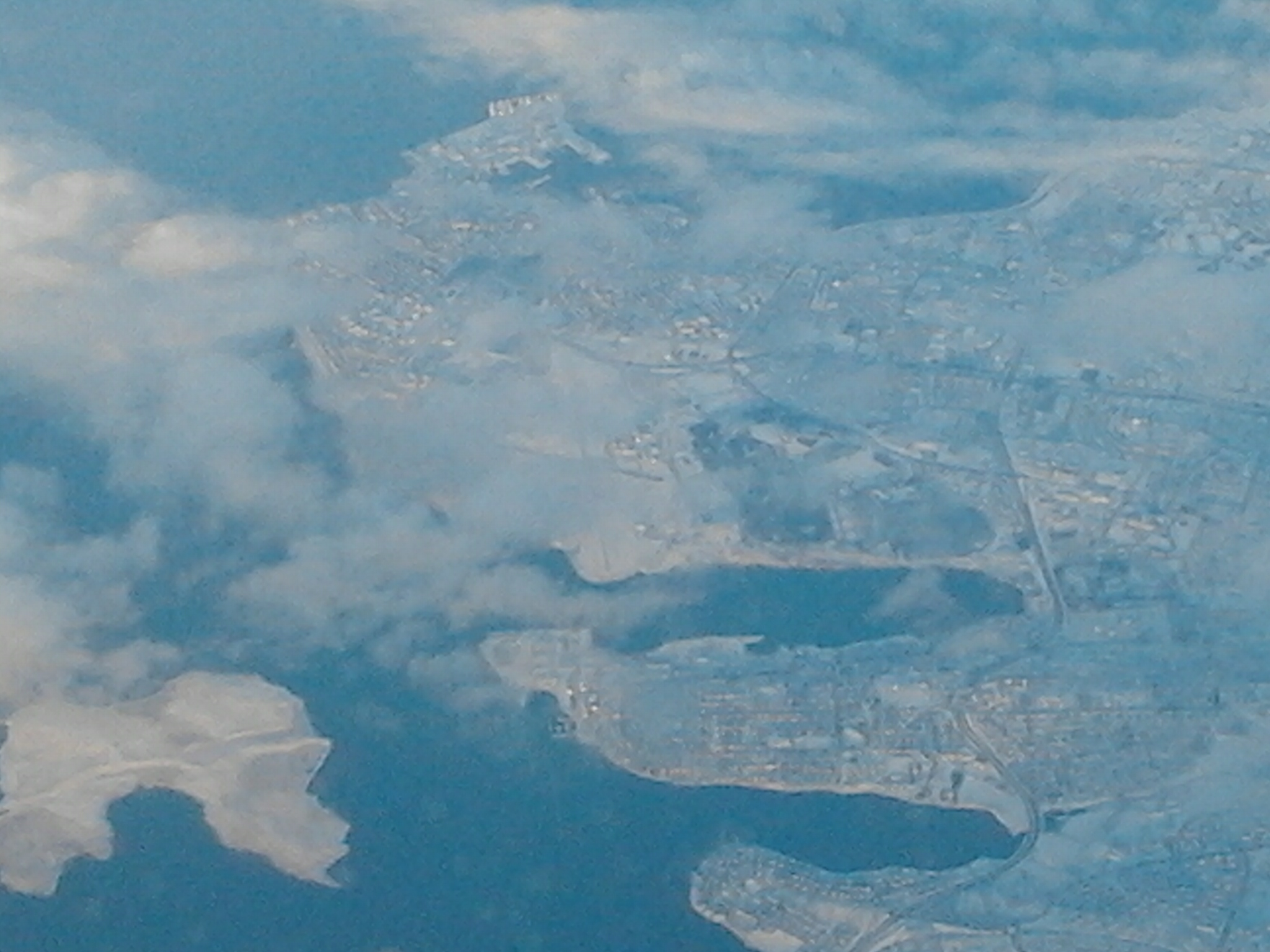 L'Islande vue des airs