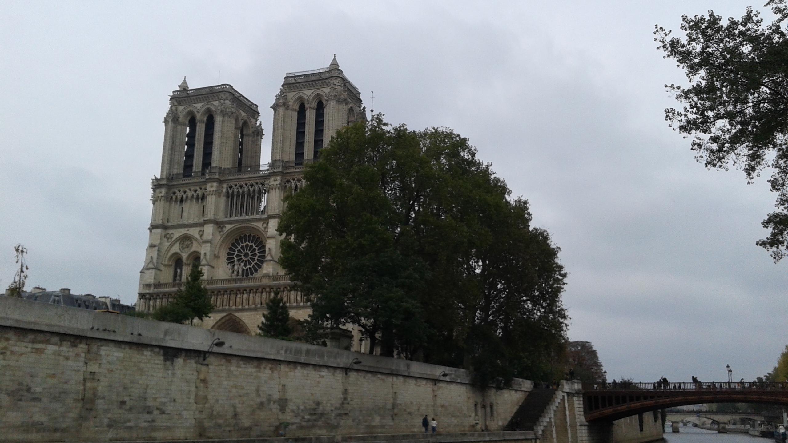 Notre-Dame vue de la Seine