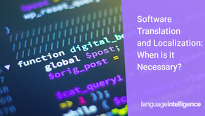Software Localization Services: When Is It Time to Engage?