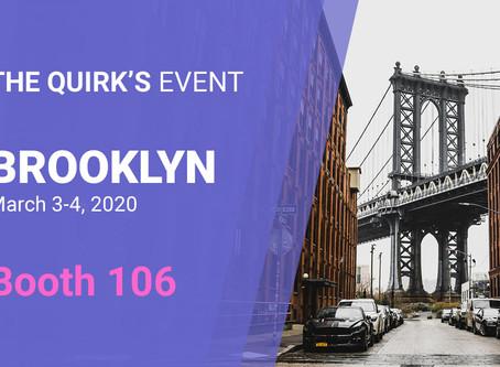 Quirk's Brooklyn – March 3-4 2020