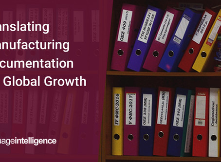 Translating Manufacturing Documentation for Global Growth