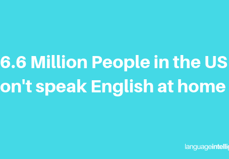 66.6 million people in the US speak a language other than English at home