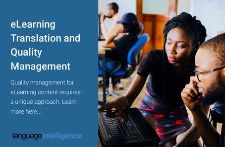 eLearning Translation and Quality Management