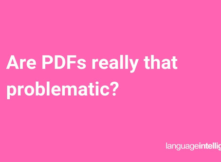 Are PDFs really that problematic?
