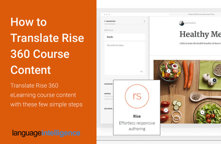 How to Translate Rise 360 Course Content