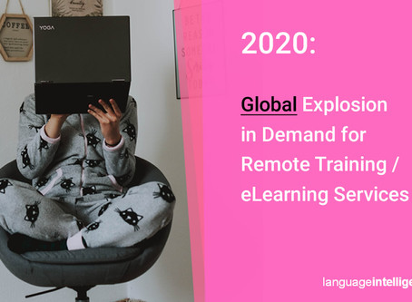 World Events are Creating a Global Explosion in Demand for Remote Training Services